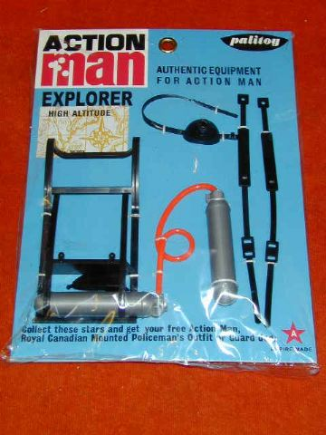 ACTION MAN - HIGH ALTITUDE EQUIPMENT SET (for Mountaineer) - Carded